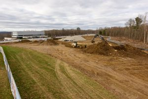 Parking Lot Under Construction on Discovery Drive is Part of Larger Plan