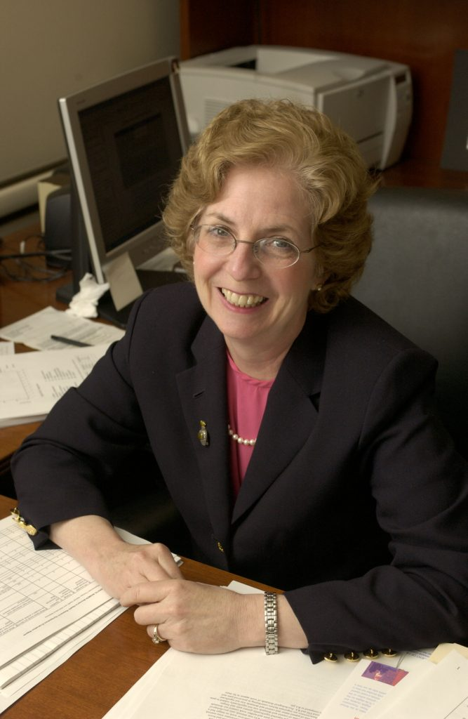 Susan Reisine, professor emerita of the School of Dental Medicine at UConn Health. (Peter Morenus/UConn File Photo)