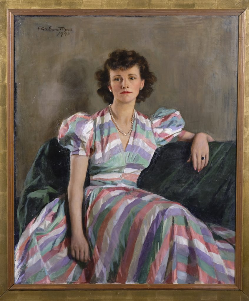 Ellen Emmet Rand (American, 1875-1941) Mrs. Mary Potter (1940), Oil on canvas, William Benton Museum of Art Gift of John A., William B., and Christopher T.E. Rand, 1969.22.