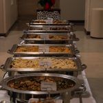 The bountiful Kwanzaa feast prepared and provided by UConn Dining Services. (Lucas Voghell '20 (CLAS)/UConn Photo)