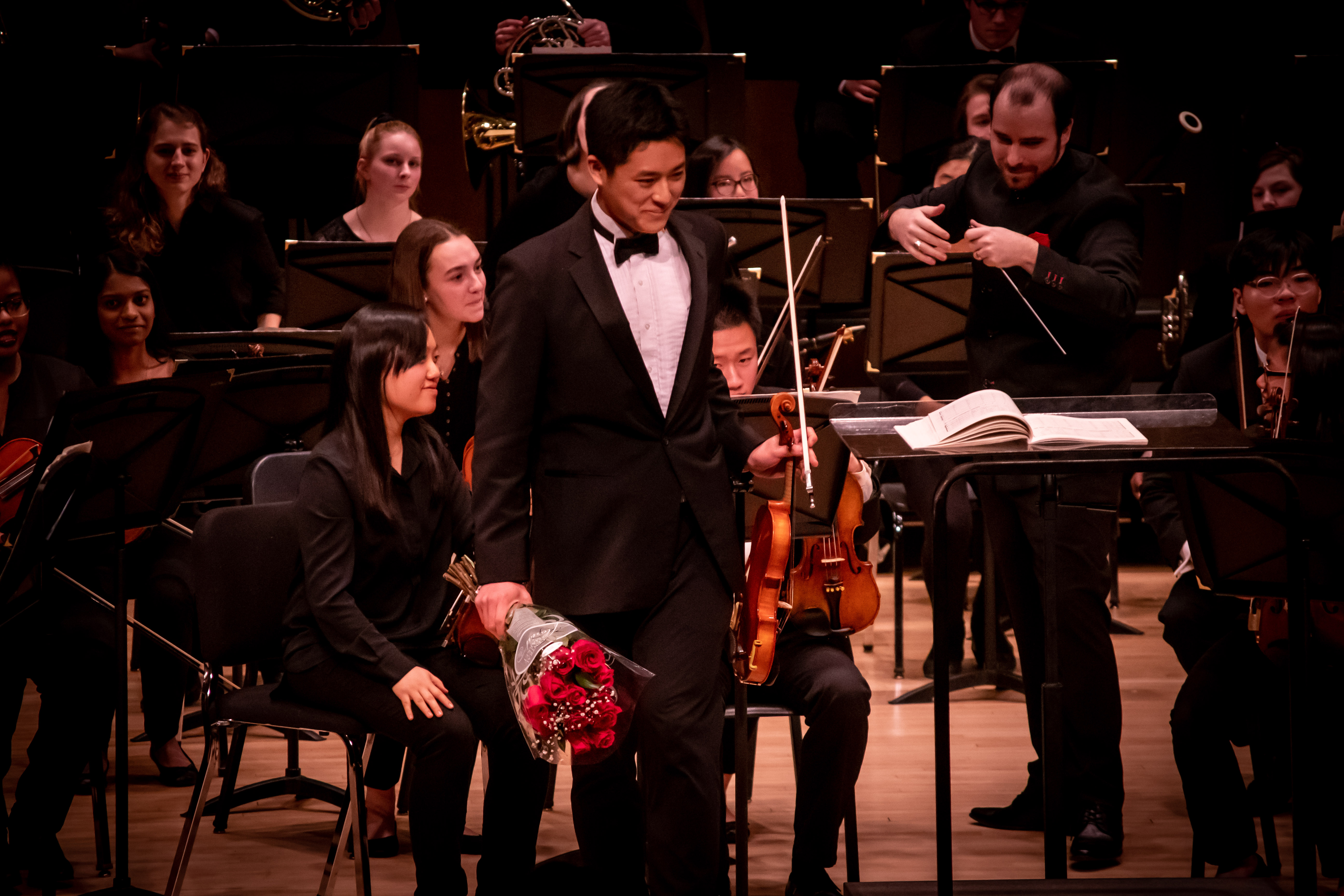 UConn Symphony Premieres African-American Composer's Work