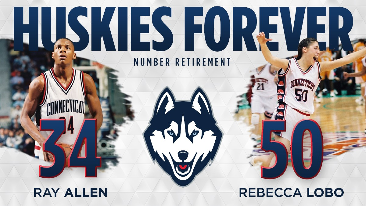 f4246d5267b The numbers worn by the two UConn greats will be will become unavailable in  perpetuity following