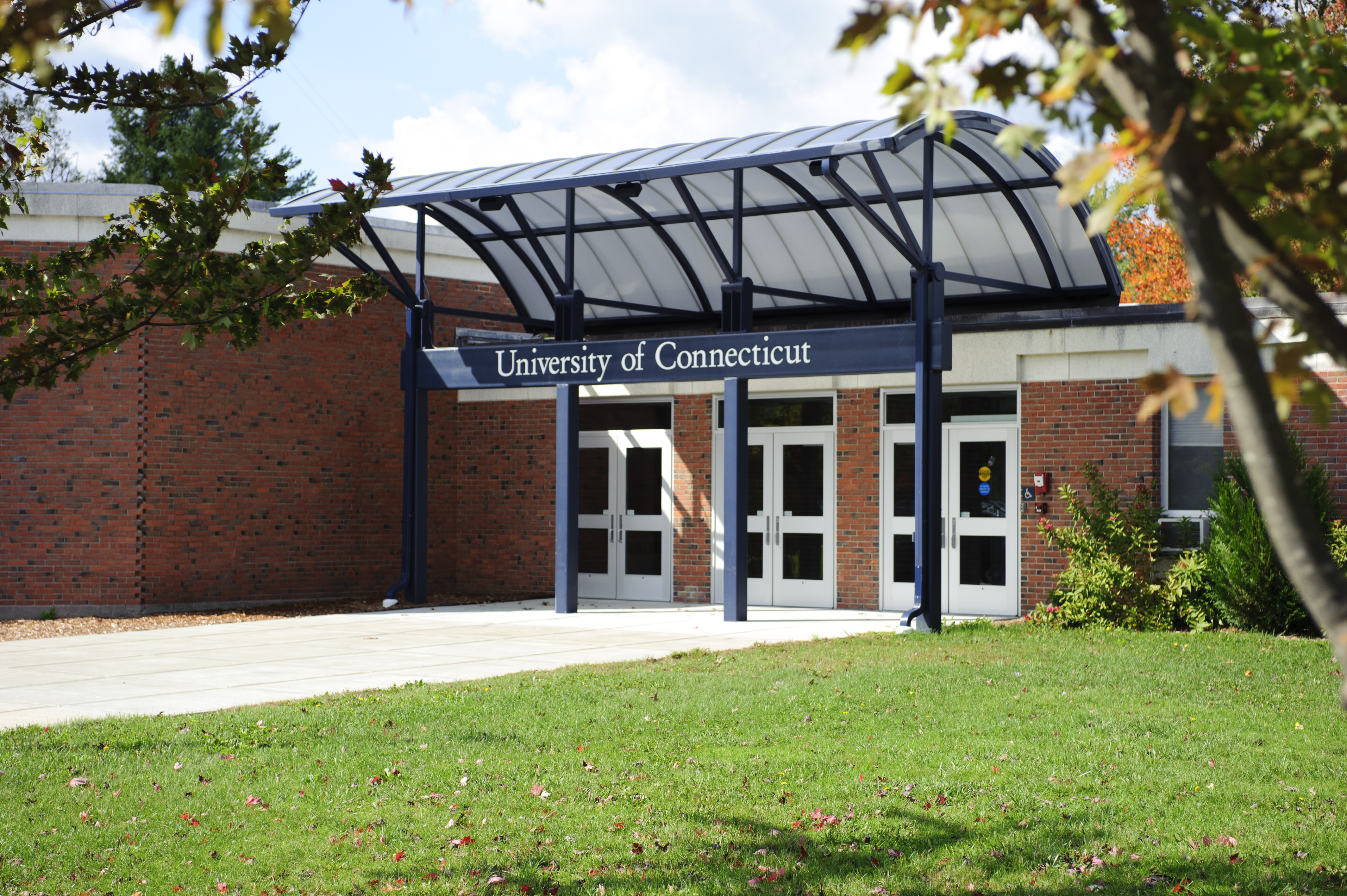 A view of the former Torrington campus. (UConn File Photo)
