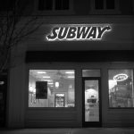 A staple of late-night and weekend dining, Subway has a large presence on campus: there are three locations within walking distance. (Lucas Voghell '20 (CLAS)/UConn Photo)