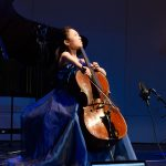 Amy Goto, cello, age 14, was one of two JOY Conservatory students among a number of young classical musicians who performed on NPR's 'From the Top' when it recorded two live shows at Jorgensen on Nov. 17. (Photo courtesy of 'From the Top')