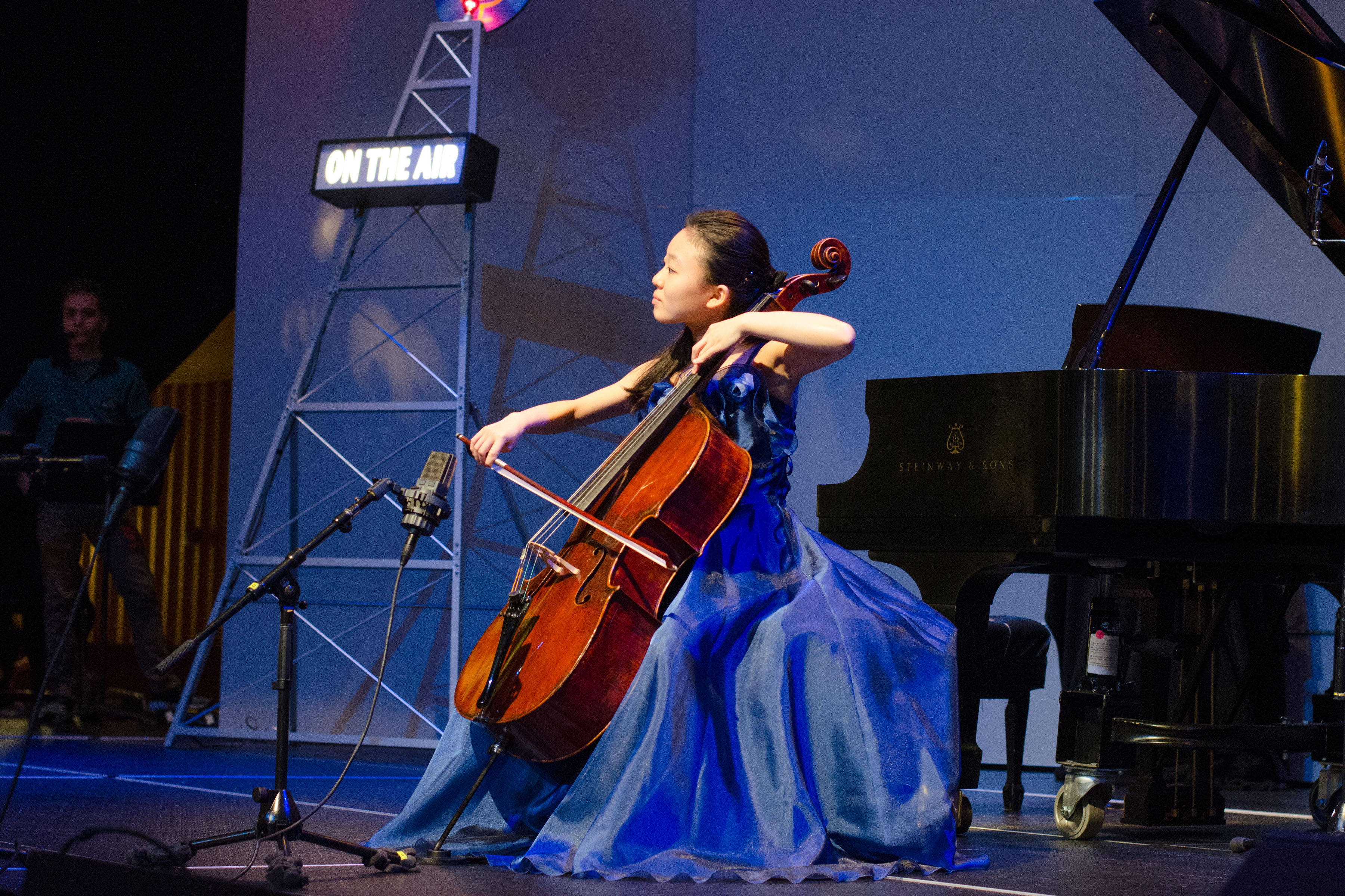 Amy Goto, cello, age 14. (Photo courtesy of 'From the Top')