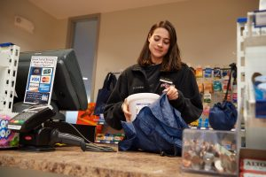 Dining Services Ends Use Of Plastic Bags