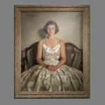 A portrait of Jean Sargent by Ellen Emmet Rand, 1938. (Sean Flynn/UConn Photo)