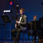 Taylor Akin, bassoon, age 17, was among the other students who performed on NPR's 'From the Top,' when it recorded two live shows in one night at Jorgensen. (Photo courtesy of 'From the Top')