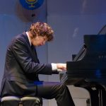 Tristan Paradee, piano, age 17, was among the other students who performed on NPR's 'From the Top,' when it recorded two live shows in one night at Jorgensen. (Photo courtesy of 'From the Top')