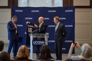 Kruger Steps Down as UConn Board of Trustees Chair