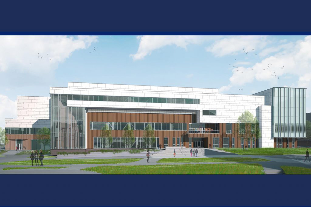 An artist's impression of the new Student Recreation Center.
