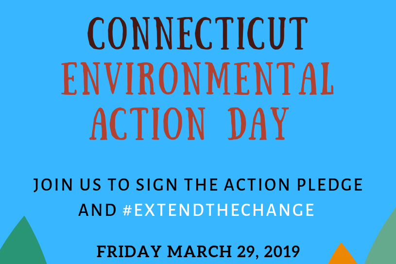 Connecticut Environmental Action Day flyer.
