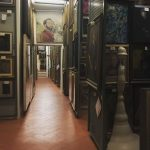 Storage room in the Uffizi Galleries. (Photo courtesy of Isabella Saraceni).