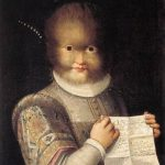 Portrait of Antonietta Gonsalvus, by Lavinia Fontana (c. 1595)