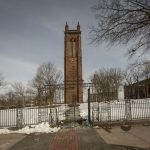 The Keney Memorial Clock Tower in Hartford. (Sean Flynn/UConn Photo)