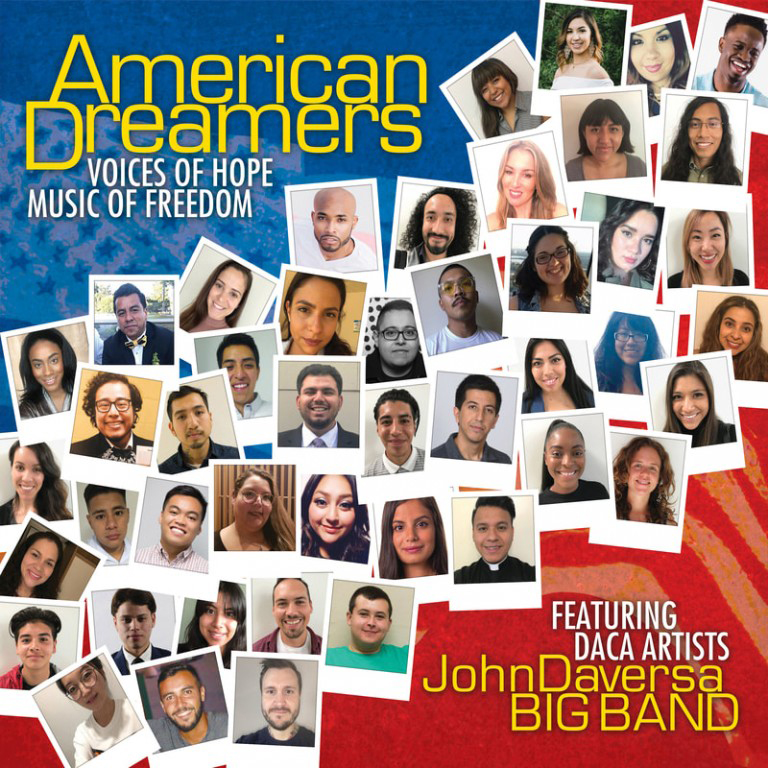 Cover of the Grammy-Award-winning album, American Dreamers.