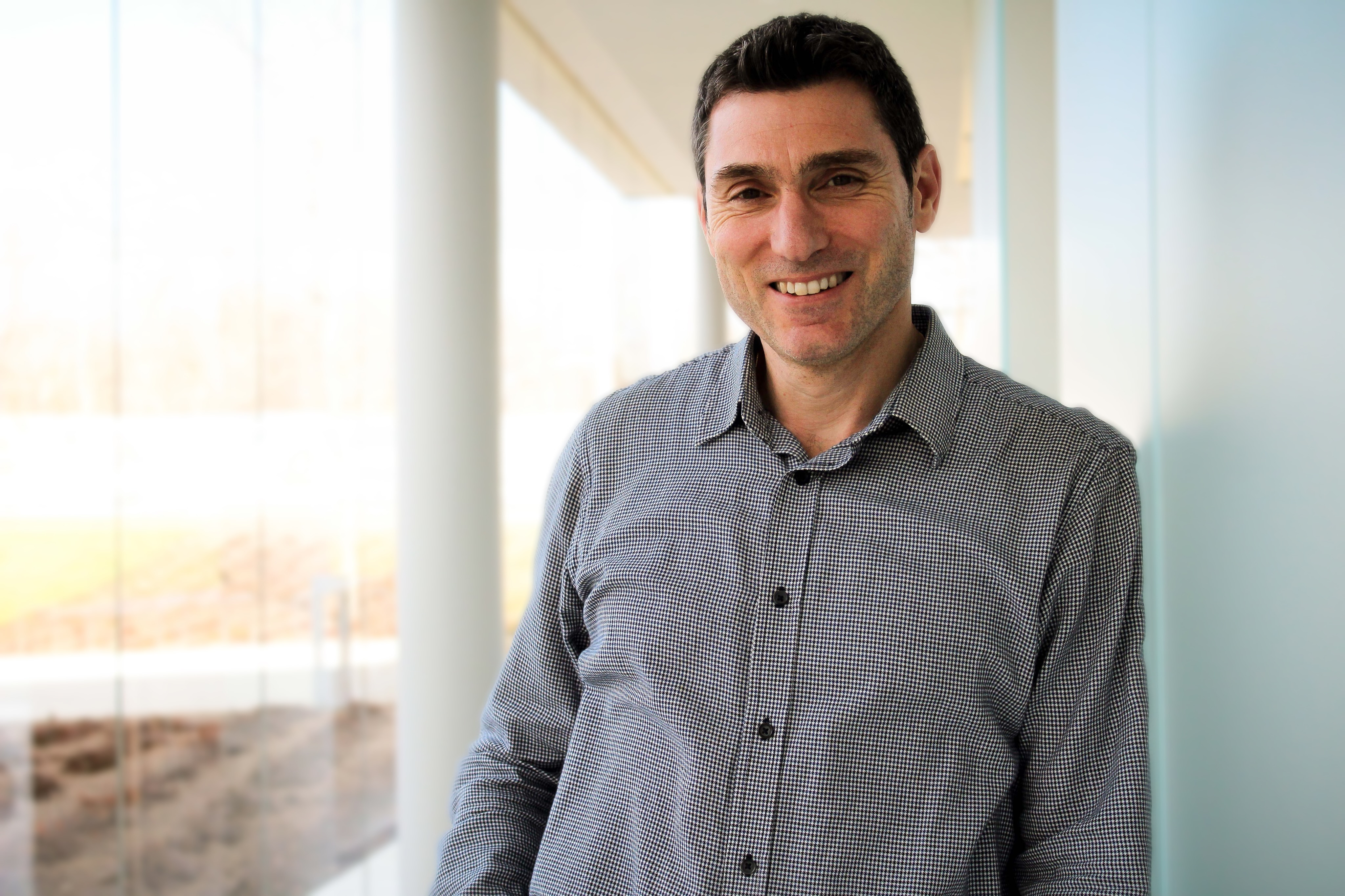 Emmanouil (Manos) Anagnostou, director of the Eversource Energy Center at UConn Tech Park. (Carson Stifel/UConn Photo)