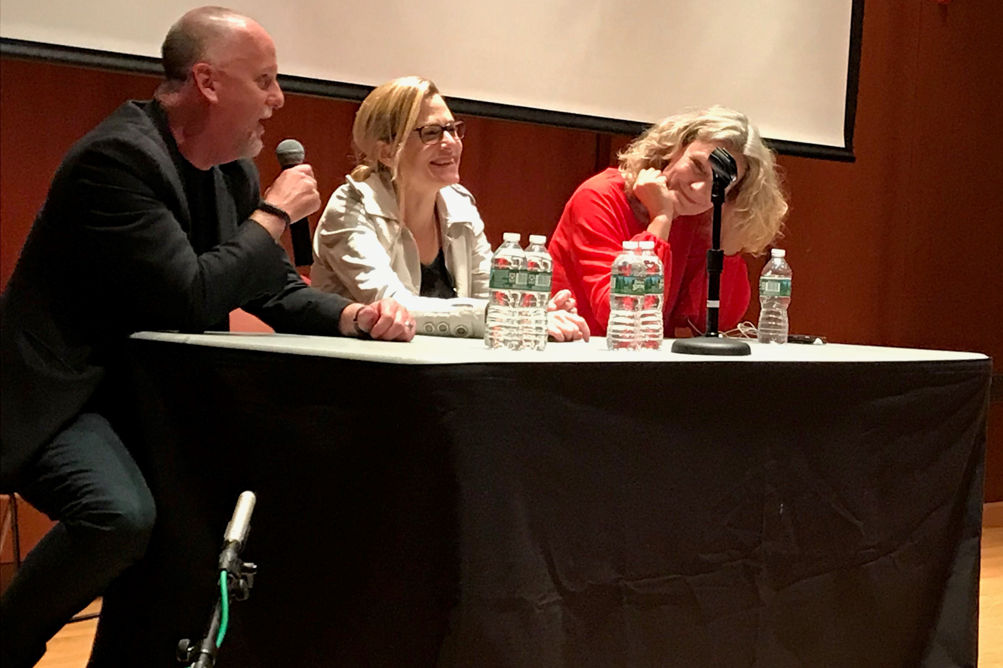 Presenting Science to the Public in a Post-Truth Era panel. (Lisa Stiepock/UConn Photo)