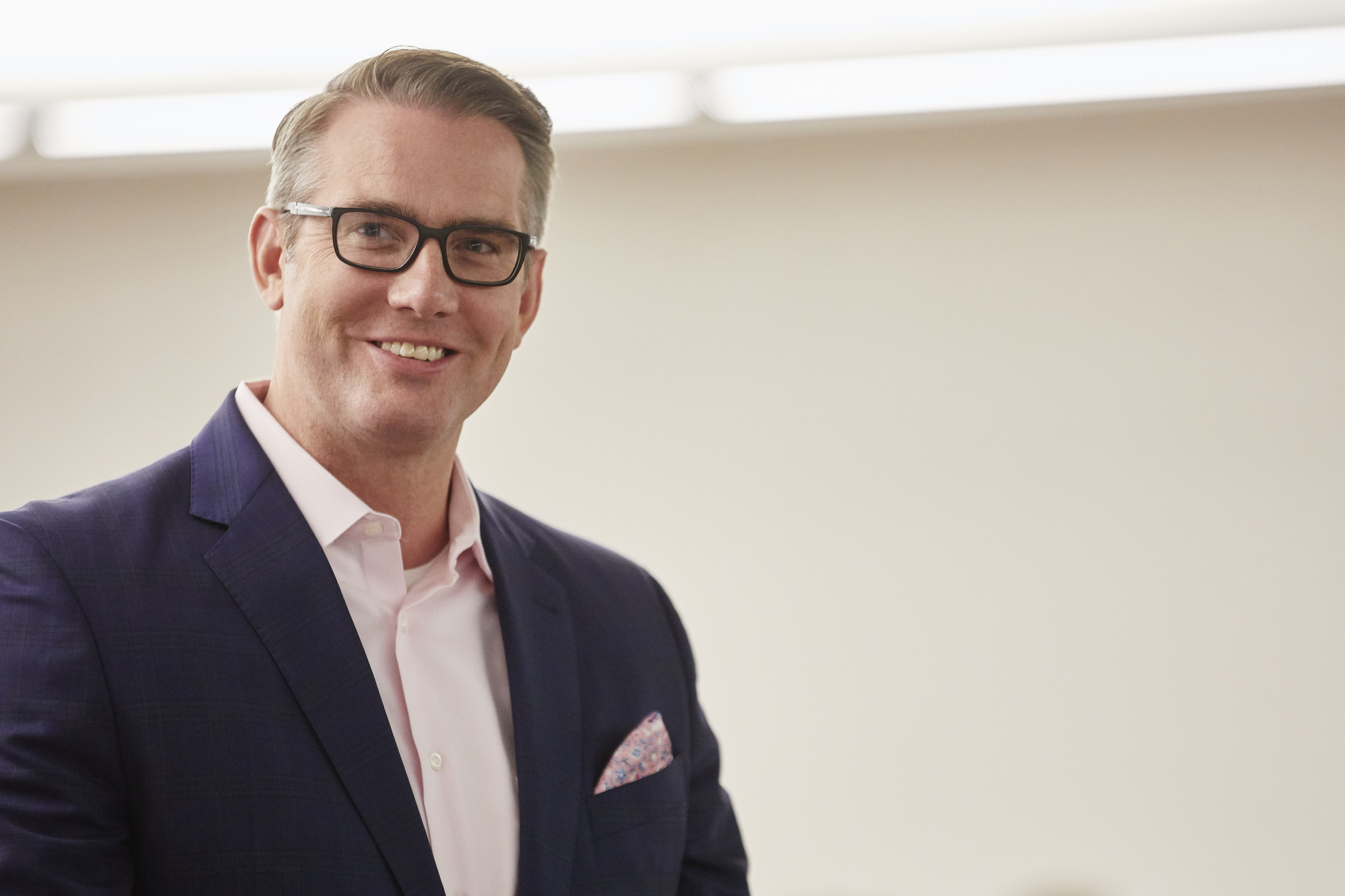 Scott Roberts has been named President and CEO of the UConn Foundation. (Josh Hawkins/UNLV Creative Services Photo)