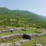 A Late Roman monastery (4th-6th century CE) at the foot of the Albanian Alps. (Elic Weitzel/UConn Photo)
