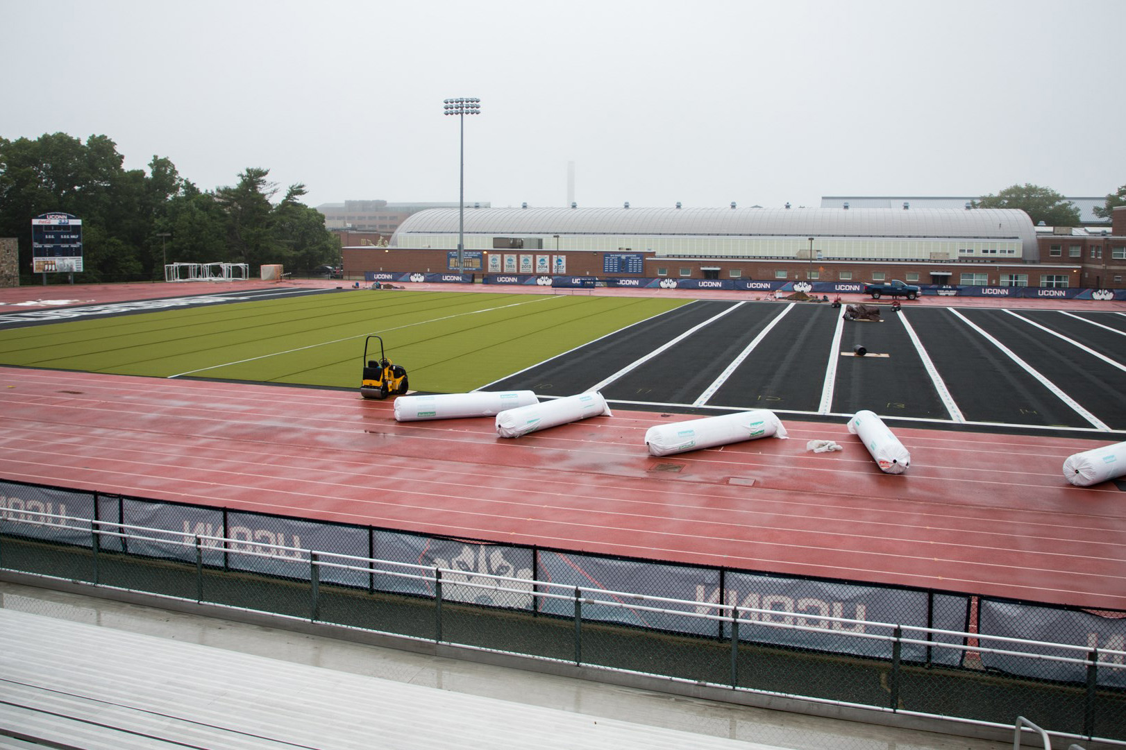 The Sherman Family Sports Complex. (Jason Reider/UConn Athletics Photo)