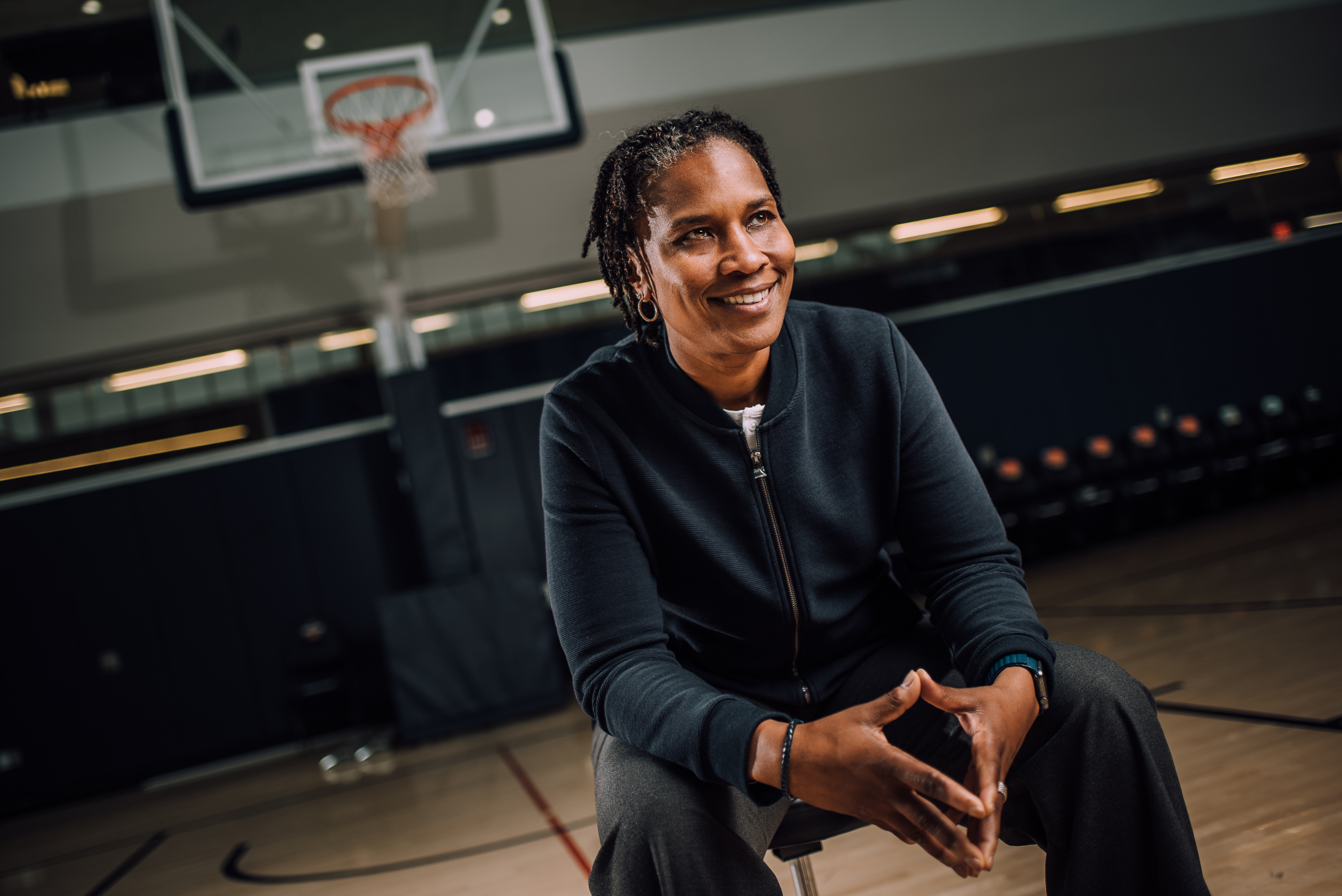 Jamelle Elliott '96 (BUS), '97 MA. (Nathan Oldham/UConn Photo)