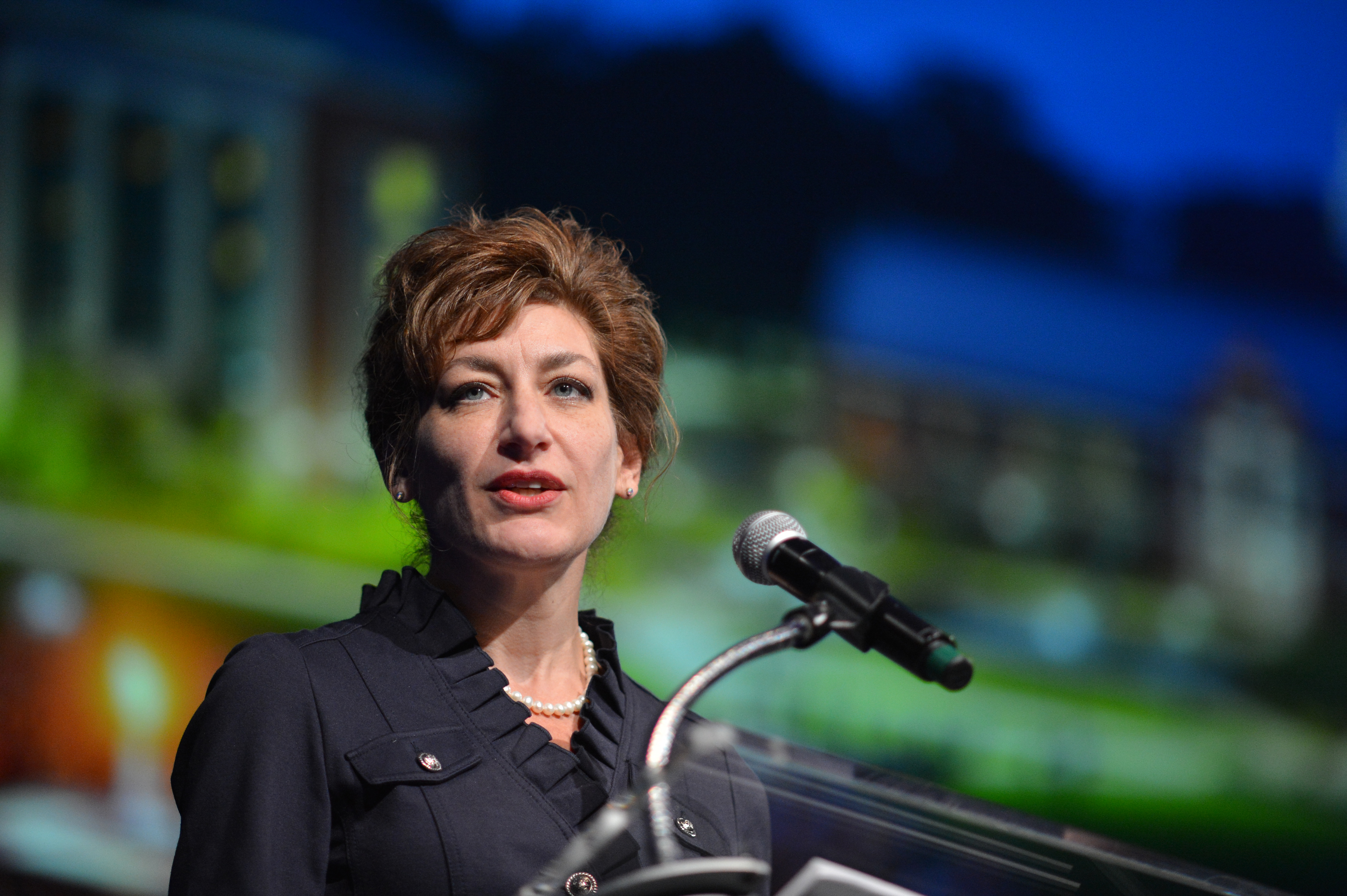 As Susan Herbst prepares to complete her presidency, faculty, staff, students, and alumni reflect on the impact she has had on the UConn community over the past eight years. (Peter Morenus/UConn File Photo)