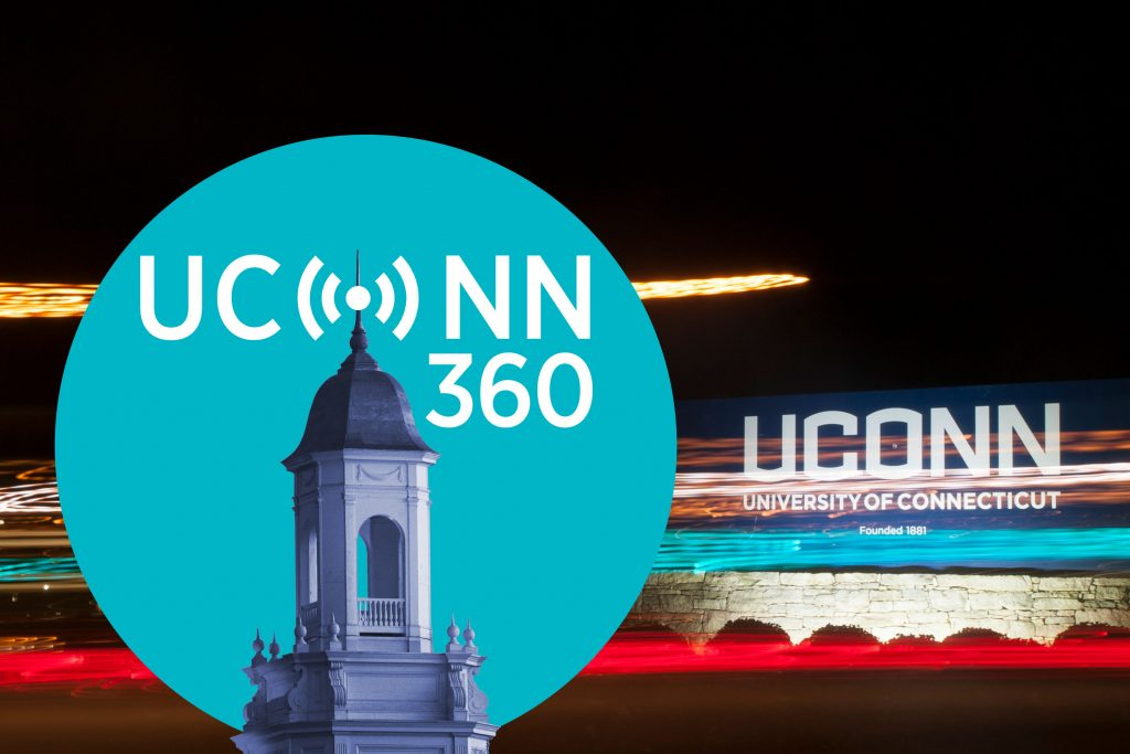 UConn 360 story graphic