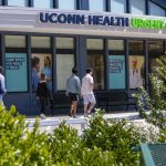 UConn Health's urgent care clinic at Downtown Storrs. (Sean Flynn/UConn Photo)