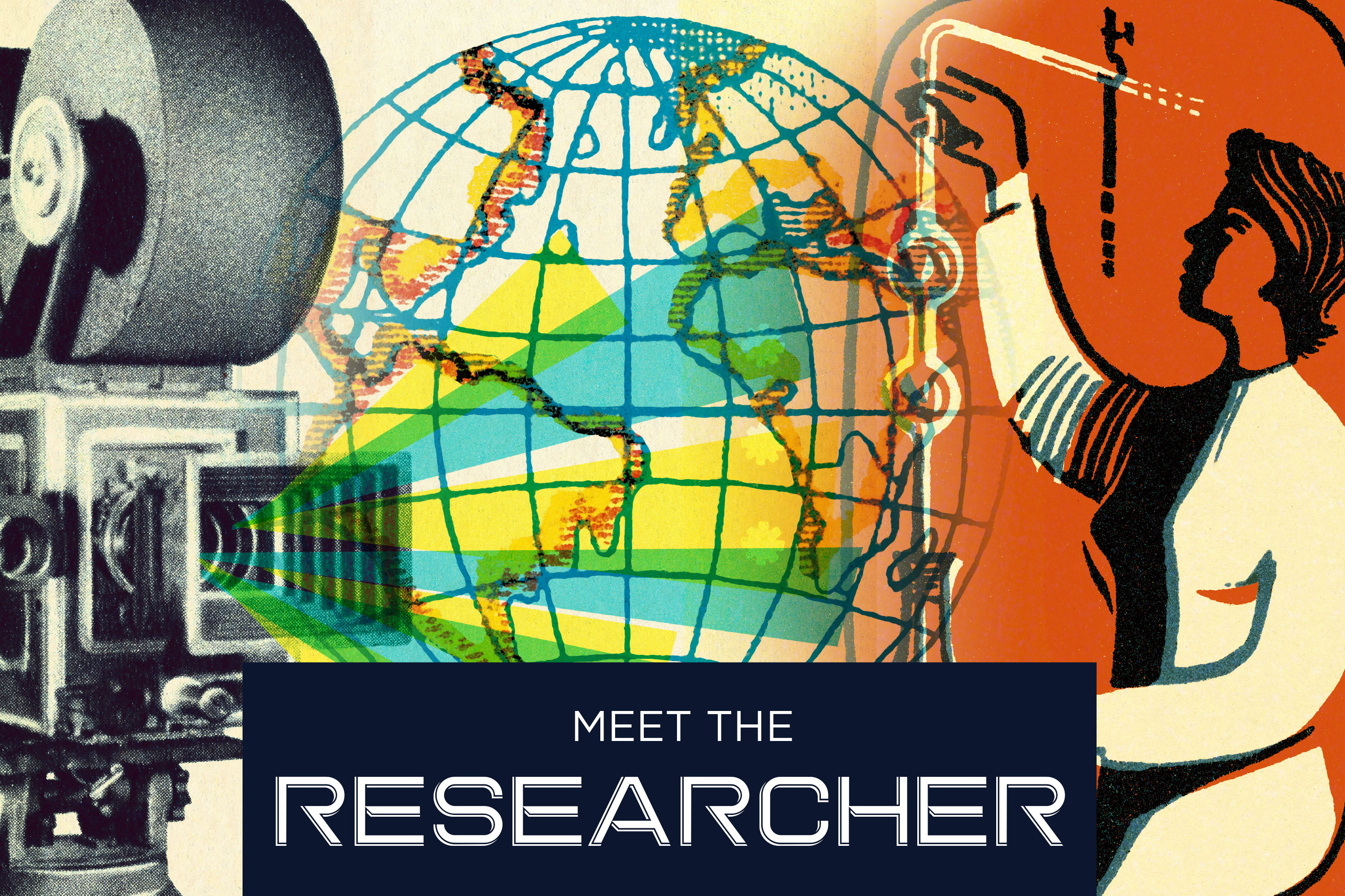 Meet the researcher graphic
