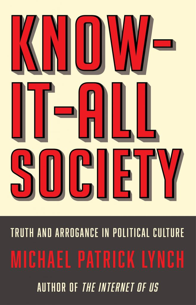 Know-it-All Society Cover Image. Printed with permission from W.W. Norton and Company.