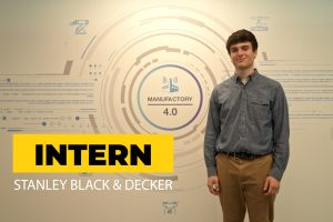 Noah Sobel-Pressman '21 (BUS) was immersed in the startup world this summer through an internship at Stanley Black & Decker.
