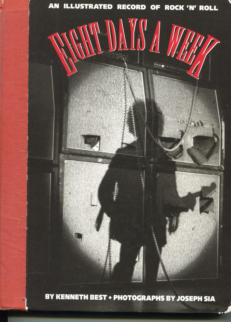 "The cover of Ken Best's ""Eight Days a Week."" (Courtesy of Ken Best)"