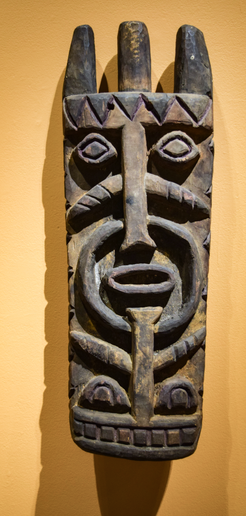 Water Spirit Crest Mask (Ngerebo) , Gift of Janine and Josef Gugler, William Benton Museum of Art.