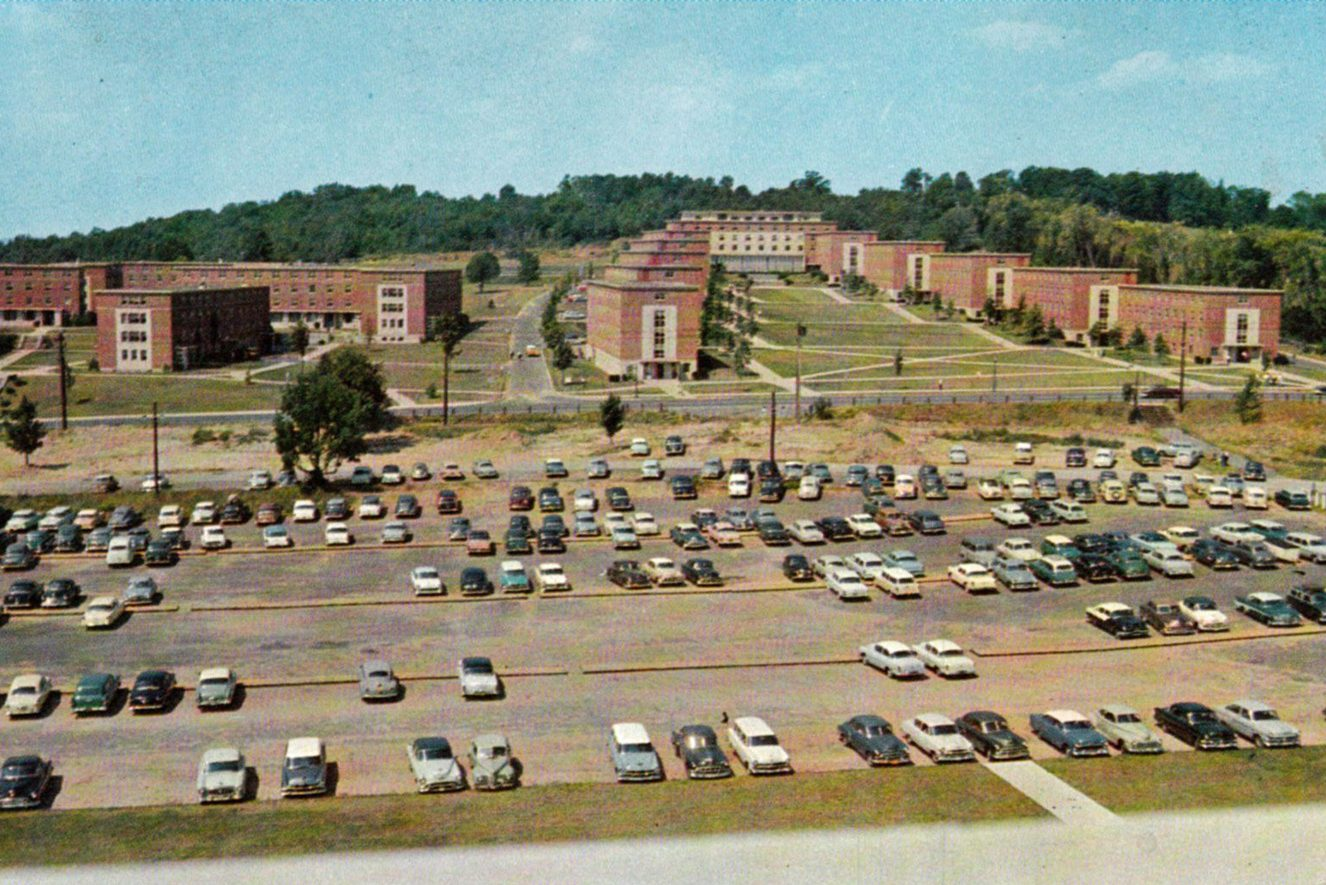 Historical image of North Campus.