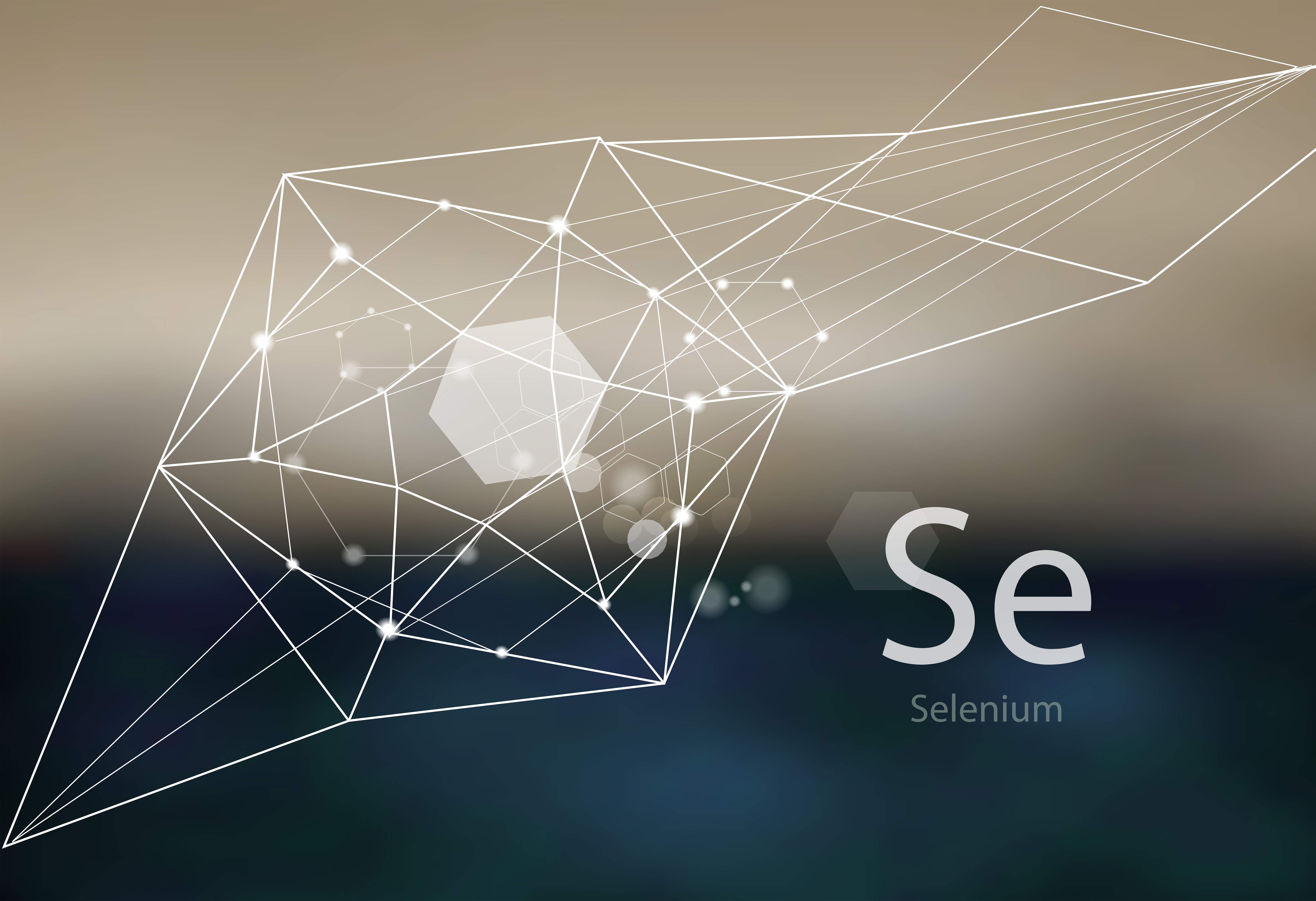 A diagram of the chemical element Selenium
