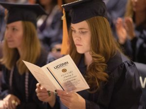 Scenes from the UConn School of Nursing's CEIN/BS Pinning and Commencement Ceremony on December 12, 2019. (Jaclyn Severance/UConn Photo)