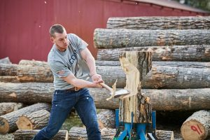 UConn Woodsmen: Their Sport is the Great Outdoors