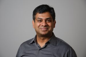 A portrait of Department head for Chemical and Biomolecular Engineering Ranjan Srivastava.