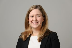 Kelly Burke, assistant professor of chemical and biomolecular engineering