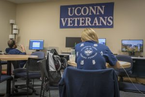The Veterans Oasis in the Student Union.
