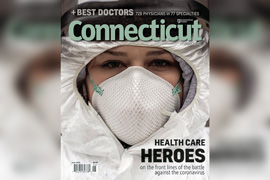 Cover of Connecticut Magazine's Best Doctors of 2020 issue