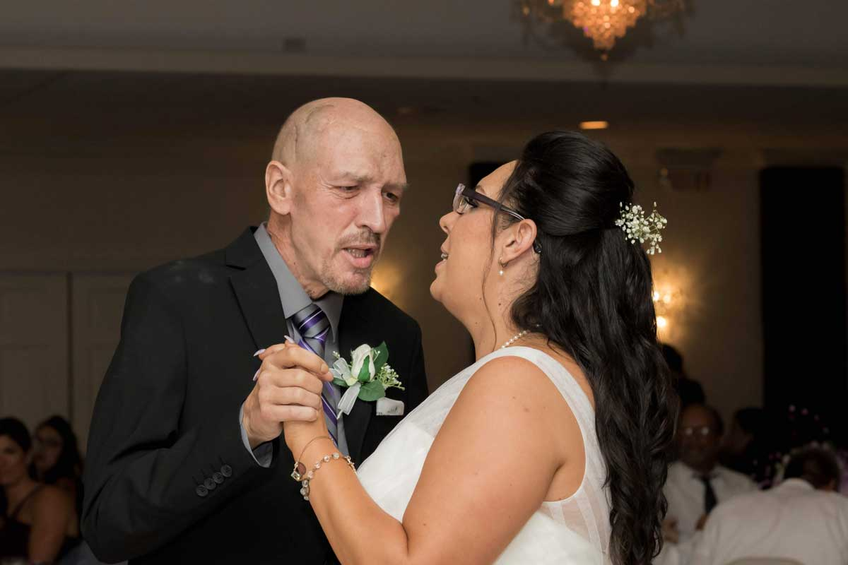 Lenny's father-daughter dance