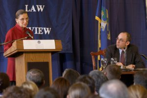 UConn Law Remembers Ruth Bader Ginsburg