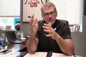 Geno Auriemma Supports New Program to Further Boost UConn Grad Students at the Recruiting Table