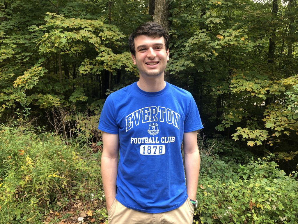 "Noah Sobel-Pressman, the student who had the ""crazy idea"" for the Student Venture Fund."