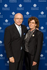 John and Valerie Rowe, donors