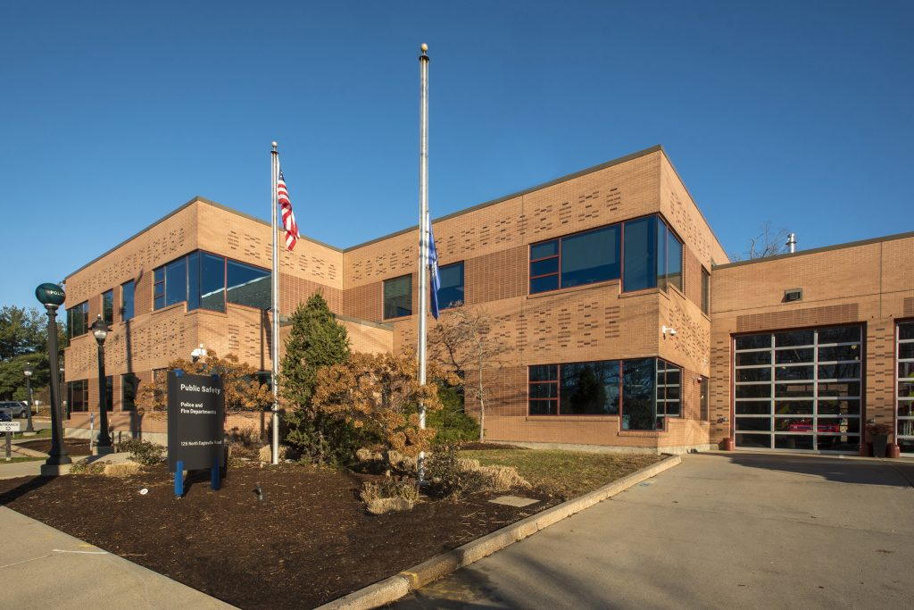 The UConn Public Safety Building on the Storrs campus.