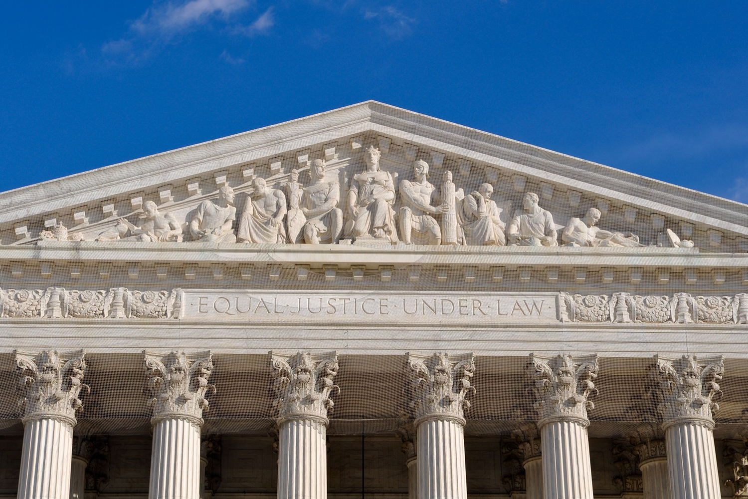 U.S. Supreme Court frieze